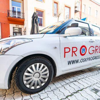 Prawo jazdy PROGRESS Częstochowa - nauka jazdy - kategoria B